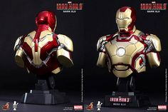 Iron Man 3 bust - Hot toys