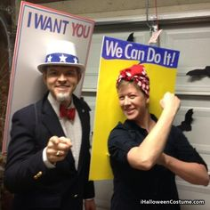 Brianna!!! I tried to tag you but it wasnt working so I'm pinning it so you'll see this for your Rosie the riveter costume