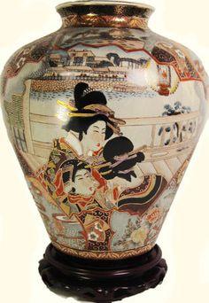 Oriental Furnishings - Chinese Porcelain Onion Shaped Jar with Hand Painted Geisha Design, $153.00 (http://www.orientalfurnishings.com/14-high-decorative-chinese-porcelain-onion-shaped-jar-hand-painted-in-geisha-design/)