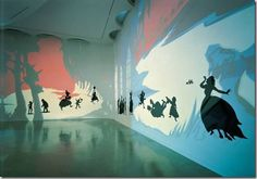 Kara Walker, Insurrection! Our Tools Were Rudimentary But We Pressed On, 2002.