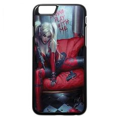 Harley Quinn (play with me) iPhone 7 Case ($97) ❤ liked on Polyvore featuring accessories and tech accessories