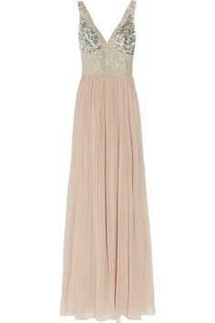 Sparkly, pink gown...BE MINE.