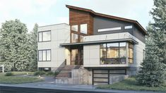 Farmhouse style cabin covered porch pack 10 house in PDF Small Contemporary House Plans, Contemporary Style Homes, Modern House Plans, Modern House Design, Modern Exterior House Designs, Modern Floor Plans, Modern Style Homes, Modern Contemporary Homes, Architectural Design House Plans