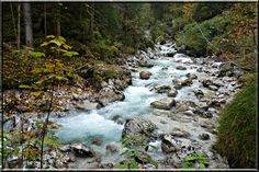 Ramsauer Ache River, Outdoor, Water, Outdoors, Outdoor Games, The Great Outdoors, Rivers