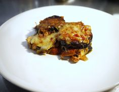 Greek Recipes, Eggplant, Lasagna, Main Dishes, Pork, Food And Drink, Cooking Recipes, Meat, Gastronomia