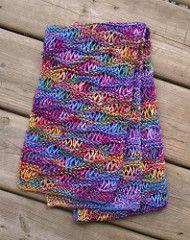 Ravelry: Drop Stitch Scarf pattern by Christine Vogel