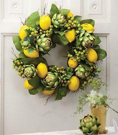 Gorgeous Spring Wreath Decor Idea For Your House 19 Deco Floral, Arte Floral, Wreath Crafts, Diy Wreath, Tulle Wreath, Wreath Ideas, Fall Wreaths, Christmas Wreaths, Floral Wreaths