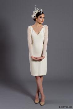 ślub - suknie-D078 sukienka z siateczkowymi wycięciami. Wino