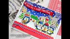 Lawn Fawn Pop Up Holiday Gift Card   Studio Monday with Nina Marie