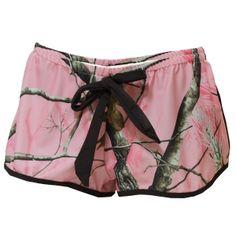 2014 Realtree AP Pink Camo Cover Up Shorts  #Realtreegirl #pinkcamo #camoswimsuit