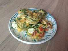 Ei muffins met groenten en quinoa