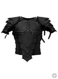 Dragonrider Leather Armor black - maskworld.com
