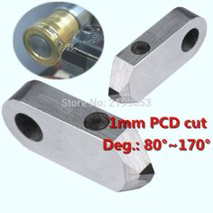 34.90$  Buy now - Posalux type diamond cutting tool 1mm V cut jewelry making tools PCD Endmill Cutter for Posalux Type Faceting Machine Cutting  #buymethat