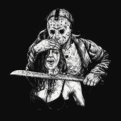 Ultimate Horror!! Freddy vs Jason vs Michael hand painted