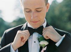 Groom's Attire: Joseph A. Bank - http://www.stylemepretty.com/portfolio/joseph-a-bank-2 Photography: Sarah Joelle Photography - www.sarahjoellephotography.com/   Read More on SMP: http://www.stylemepretty.com/little-black-book-blog/2015/09/07/favorite-summer-wedding-moments-to-savor/