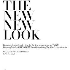 """The New New Look"" Shanina Shaik Harper's Bazaar India April 2013... ❤ liked on Polyvore"