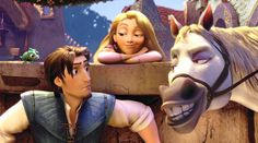 "Good news, Disney fans - the creators of Tangled are continuing the story of Rapunzel and Eugene, this time in a series on the Disney Channel. | A ""Tangled"" TV Series Is Coming To The Disney Channel"