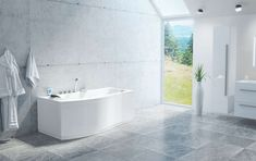 VikingBad Massasjebad Raet (V) Std Corner Bathtub, Alcove, Bathroom, Washroom, Full Bath, Bath, Bathrooms, Corner Tub