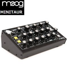 Moog(モーグ) / MiniTaur Rev.2 BASS SYNTH BK - アナログ・ベース・シンセサイザー - ■限定セット内容■→ 【・世界No1 Belden8412ケーブル 】