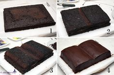 how to cake books.  Should do this for bookclub. Except the blogpost is written in Spanish.