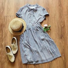 """309 Likes, 4 Comments - The Other Sparrows (@theothersparrows) on Instagram: """"Bow, pleats, pearl buttons. Dress: KF68319 (S/M/L/XL) . . . #theothersparrows #pleateddress…"""""""