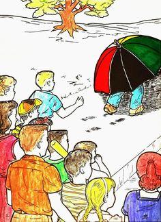 HISTÓRIA INFANTIL - O Guarda-Chuva Ambulante Vocês gostariam de ouvir a história de um guarda-chuva a...