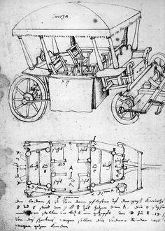 """Coches""""Les caisses de Vérone"""",Voiture de type hongrois,Quelques éléments sur la suspension des voitures 1."""