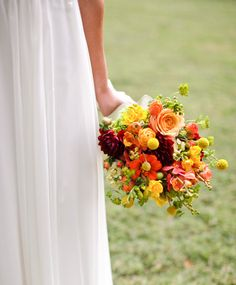 Rustic late summer bouquet