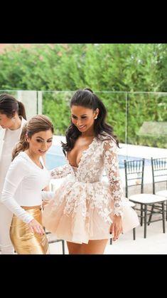 Beautiful Joanne wears Steven Khalil for her kitchen tea celebration