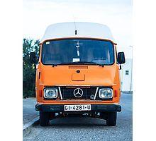 Mercedes 206D classic vintage hippie bus.