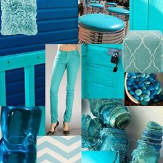 Turquoise color trend