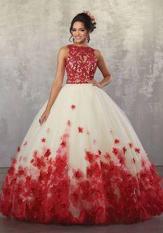 f4561aee682 8 Best Cute 2 piece Quinceañera Dresses images