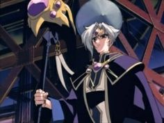 Guru Clef: He's the chief magician in Cephiro and is one of the main protagonists in the magic knight rayearth series. Magic Knight Rayearth, Cardcaptor Sakura, Anime Fantasy, The Magicians, Manga Anime, Fate, Deviantart, Wizards, Witches