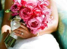 Pink and green! Fresh, romantic, and pretty :)
