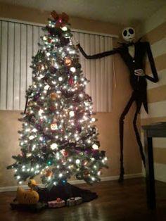 DIY Nightmare Before Christmas Halloween Props: Life-Size DIY Jack Skellington…