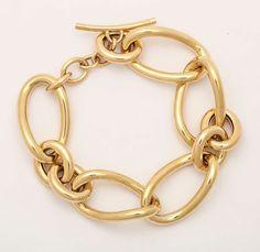 Personalized Jewelry, Custom Jewelry, Gold Jewelry, Jewelry Accessories, Vintage Jewelry, Fine Jewelry, Jewelry Design, Jewellery, Gold Link Bracelet