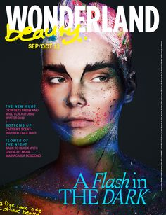 Beauty Cover, photographed by Bjarne Jonasson, make-up by Kelly Cornwell