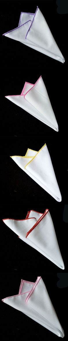Mantieqingway Men's White Pocket Square Vintage Korean Business Handkerchief Wedding Party Pocket Hanky 8 Colors Handkerchiefs