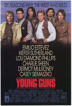 Young Guns! (1988) ~VIRGINIA LOOK HERE.........PINING this for you! Remember? ??rrr