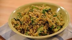 """This nutritious, easy-to-make grain salad makes a smart side dish or a light entree. The recipe comes from """"Everyday Food: Fresh Flavor Fast."""""""
