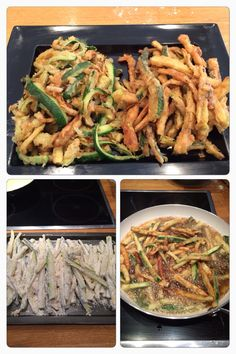 Courgette fries - enjoy housemates!