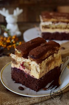Polish Cake Recipe, Polish Recipes, Polish Food, Sweet Recipes, Cake Recipes, Delicious Desserts, Yummy Food, Vegan Junk Food, Frappuccino