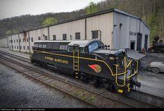 RailPictures.Net Photo: WM 82 Western Maryland Railway EMD BL2 at Cass, West Virginia by Chase Gunnoe