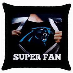 eBlueJay: CAROLINA PANTHERS NFL THROW PILLOW CASE $14.99 Pinned by https://www.ebluejay.com/store/BusyQueen
