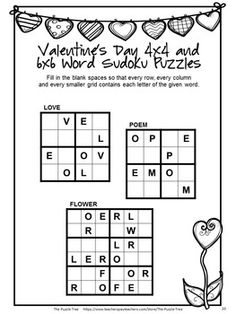 valentine 39 s day language arts ideas on pinterest literacy centers word puzzles and language arts. Black Bedroom Furniture Sets. Home Design Ideas