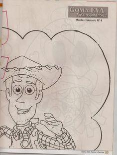 Como hacer a Woody en Goma Eva - Revistas de manualidades Gratis Woody, Sketches, Crafts, Art, How To Make, Bathroom Sets, Globe Decor, Jelly Beans, Art Background