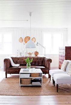 couch, chairs, rug