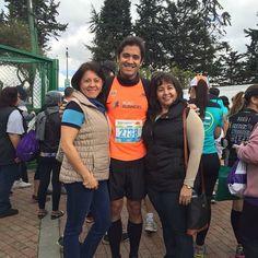 Nuestro socio Óscar Guerrero listo para correr el Medio Maratón de Bogotá única prueba de Running de Sudamérica con etiqueta oro de la IAAF
