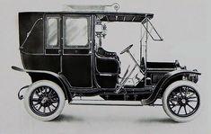 Une Minerva 16 CV Sans Soupapes de 1910