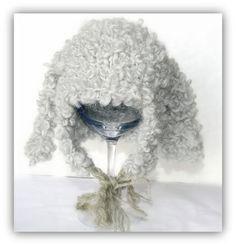 Babylue i alpakkaull ca måneder fra The knitting needle. Knitting Needles